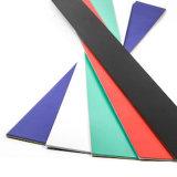 I colori flessibili dei magneti rotolano il magnete di gomma