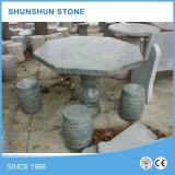 Jardin extérieur Stone Tables and Chairs / Bancs