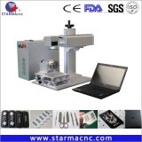 Starma 반지 보석을%s 작은 휴대용 섬유 Laser 표하기 기계