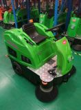 Cer-anerkannte elektrische Kehrmaschine-Straßen-Kehrmaschine-Maschine mit Aufladeeinheit