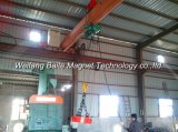 Magnete di sollevamento elettrico sommergibile del certificato MW5-70L/1-QS di iso per il lingotto/acciaio ghisa/dello scarto