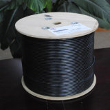 Cable impermeable al aire libre de la red del cable de LAN del gato 6 UTP (ERS-1604259)