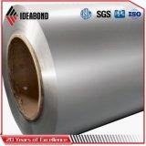 Matériau de construction de la peinture de couleur aluminium en rouleaux