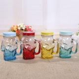 Maurer-Glas-heiße verkaufende Glasflasche des Schädel-450ml-500ml