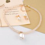 Joyería determinada de la perla de la manera de la perla de la joyería cristalina elegante de los granos