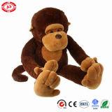 Jouet se reposant de singe d'enfants de peluche enorme mignonne molle gentille à croquer