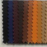 Cuero PU de imitación de grano en relieve para el calzado (HSTC046)