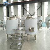 Micro 200L Cerveza Preparo do equipamento, sistema de brassagem com Tanque Locculation, Elevadores eléctricos de tanque de água quente, sistema CIP, Fornecedor de cinese