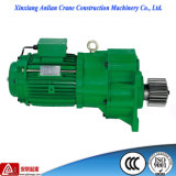 기중기 Motor 0.75kw Buffered Crane Electric Geared Motor