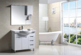 PVC Pavimento branco Modern Design New Fashion Bathroom Cabinet (9023)