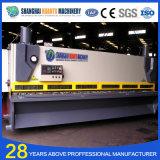 Machine hydraulique de massicot de plaque en acier de commande numérique par ordinateur de QC11y
