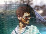 Рекламные наклейки фокус окна перфорированная пленка Contra Видение Видение в одну сторону