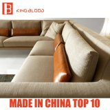 Zeitgenössisches hellgraues Farben-Gewebe für Sofa