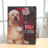 紙袋、クリスマスのかわいい小犬の紙袋、ギフトの紙袋