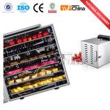 Yufchina Wkx-1 dirige o desidratador do alimento com 6-10 bandejas