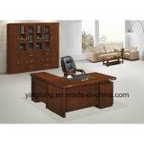Bureau exécutif Yf-2876 de bureau en bois de Tableau de meubles antiques