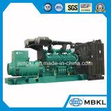 1250kVA 1000kw 미국 Cummins 힘 전기 디젤 엔진 발전기 세트 Qsk38g5