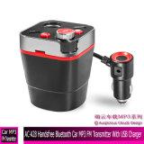 AC-A28 Bluetooth mains libres voiture Transmetteur FM MP3 avec chargeur USB