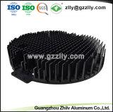 열 싱크 LED 가로등을%s 높은 정밀도 6063 알루미늄 단면도