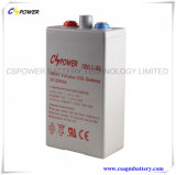 batteria tubolare del gel del piatto della batteria di 2V 250ah Opzv