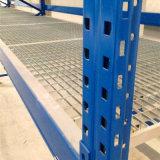 Tipo plano rejilla de acero para la viga de rectángulo del estante de la paleta