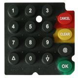 Подгонянные кнопочные панели силиконовой резины OEM проводные