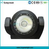 DMX 60W RGBW LED Träger-mini bewegliche Hauptstadiums-Scheinwerfer