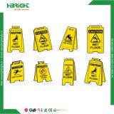 La prudence en plastique ondulé Conseil signe d'avertissement