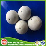 Sfere di ceramica perforate, 22-90% sfere di ceramica inerti dell'allumina, media stridente
