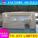 tenda gonfiabile di 8*6m, cabina gonfiabile impermeabile gigante del negozio del PVC, tenda stretta della cupola dell'aria di buona qualità