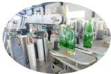 Автоматический квадратный прилипатель бутылки бутылочного стекла вставляя обозначая машину стикера