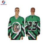 Dernière Dry Fit Custom Design SUBLIMATION Maillot de Hockey sur glace