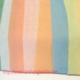 Peça de vestuário de tecido de poliéster Jacquard tingidas de vestido de mulher Cortina de vestuário