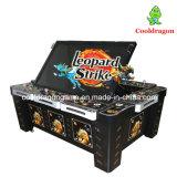 Máquina de juego de juego del cazador de la pesca de la huelga del leopardo de la máquina de los pescados