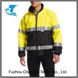 Sinal de homens Hi-Vis jaqueta de segurança à prova de água