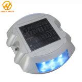 Solar de aluminio Ojos de Gato Road Stud pavimento Marker (SRS-001).