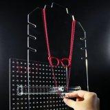 Acrylschmucksache-Speicher-Organisator-Halsketten-Standplatz-Ohrring-Armband-Halter