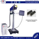 Мухы провода кабеля Qr машина маркировки лазера автоматической он-лайн