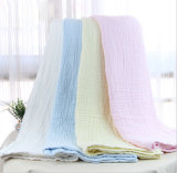 El paño 100% de la muselina del bebé del algodón Swaddle las mantas