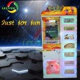 入賞した子供のための硬貨によって作動させる軽食の人のゲーム・マシン