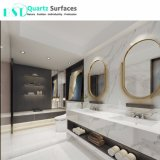 Самое толстое Calacatta Quartz внутренней стенки плитки для ванной комнатой и кухней