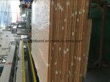 Panneaux en aluminium de nid d'abeilles de couleur en bois pour les portes et la partition de toilette