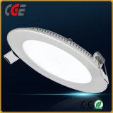 3W/5W/8W/12W/15W/18W/24W Thin redonda Luz LED panel LED de luz del panel de la luz de techo