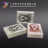 De Speelkaarten van het Document van de Reclame van de Pook van de Speelkaarten van het Ontwerp van de douane