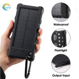 Banco de potencia impermeable Teléfono móvil Dual USB Cargador solar