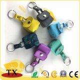 Schönes Süßigkeit-Farben-Münzen-Handtaschen-Leder-Schlüsselkette und Schlüsselring