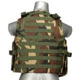 Los militares tácticos negros de la seguridad del combate de Paintball del chaleco de Airsoft conceden