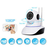 HD 360 degrés de rotation de vision nocturne de visionnement de garantie à la maison d'alarme sèche en ligne éloignée d'IP d'appareil-photo visuel de WiFi