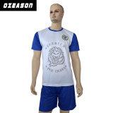 2017 Nuevo diseño de camiseta de fútbol de sublimación para hombre