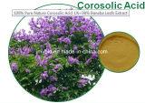 Выдержка листьев кислоты 1%~ 98% Banaba Corosolic, чисто естественное